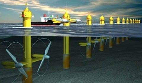 turbine sottomarine marea