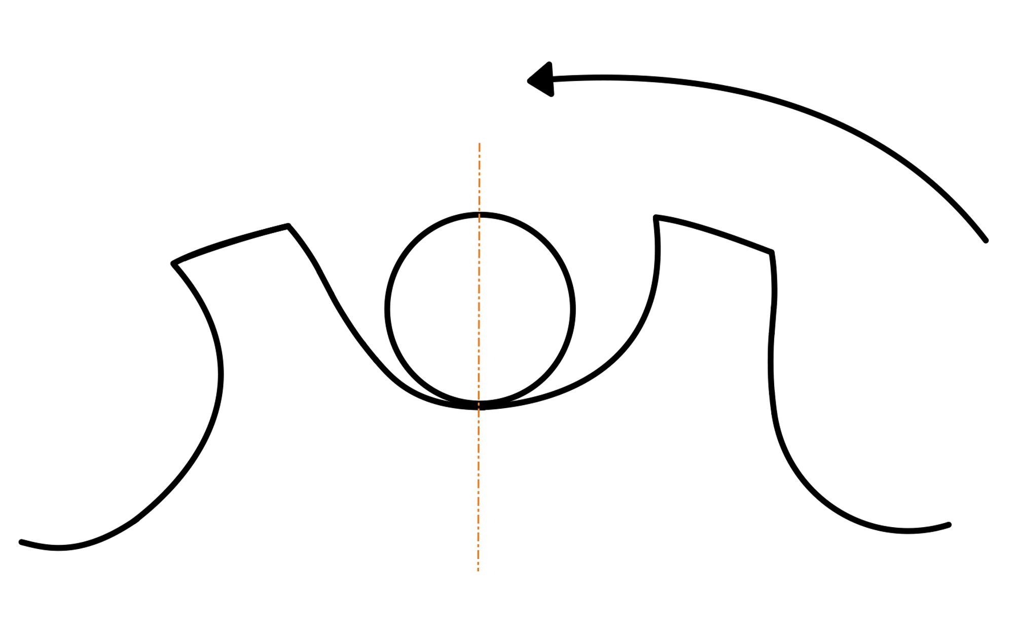 Usura della ruota dentata